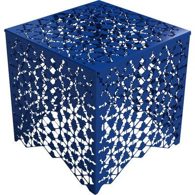 Ricami End Table Color: Baltic Blue