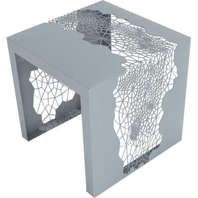 Hive End Table Color: Aviator Grey