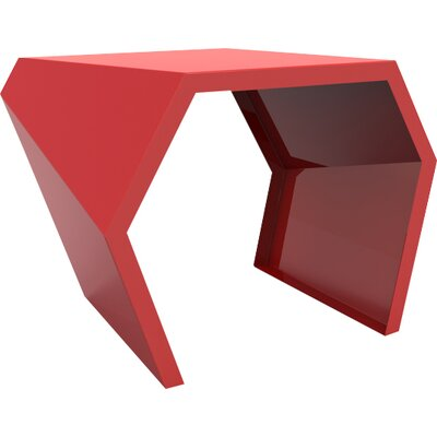 Pac End Table Color: Spirit Red
