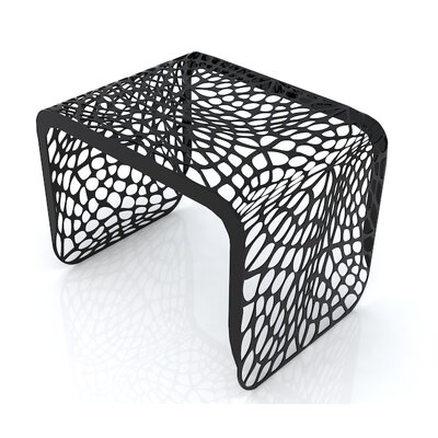 Coral End Table Finish: Jet Black