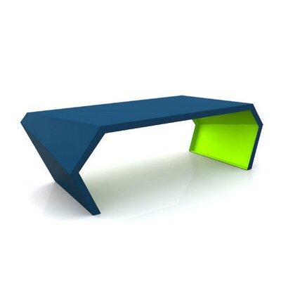 Pac Steel Bench Color: Blue