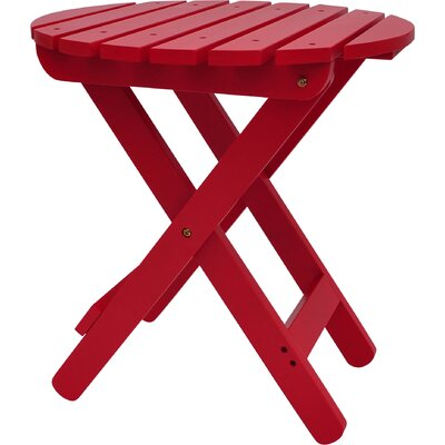 Mallory Side Table Finish: Chili Pepper