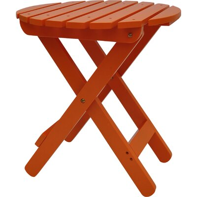 Mallory Side Table Finish: Tangerine