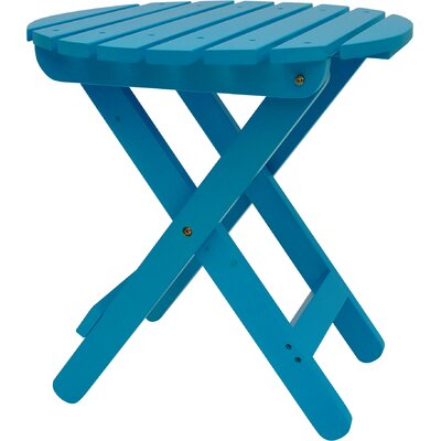 Mallory Side Table Finish: Turquoise