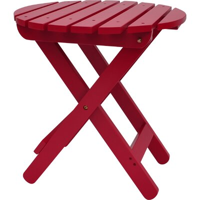 Mallory Side Table Finish: Tomato Red