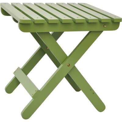 Makenzie Adirondack Folding Table Finish: Leap Frog