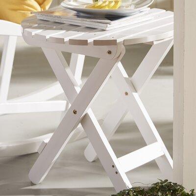 Mallory Side Table Finish: White