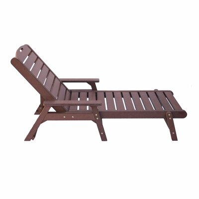 Chaise Lounge Finish: Chateau Brown