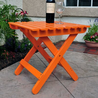 Adirondack Folding Table Finish: Tangerine