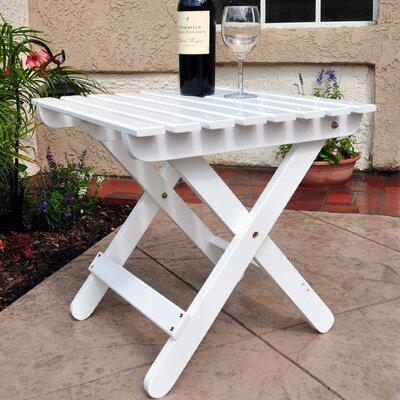 Adirondack Folding Table Finish: White