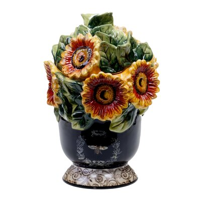 Certified International French Sunflowers 3-D Cookie Jar at Sears.com