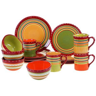 Cate 16 Piece Dinnerware Set