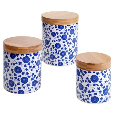 Chelsea 3-Piece Kitchen Canister Set