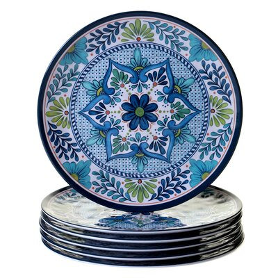 "Talavera 11"" Heavy Weight Melamine Dinner Plate"