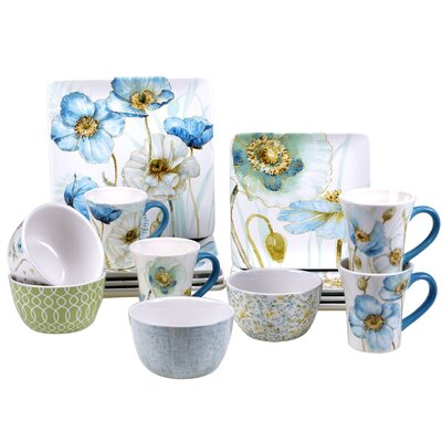 Florac 16 Piece Dinnerware Set, Service for 4 AGGR4015 38550646