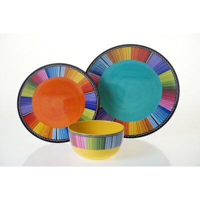 Chaidez 12 Piece Dinnerware Set