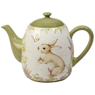 Palfi 1.25 qt. Ceramic Teapot AGTG5941 44025278