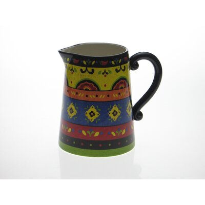 Hot and Saucy 2.75 Quart Pitcher by Sue Zipkin