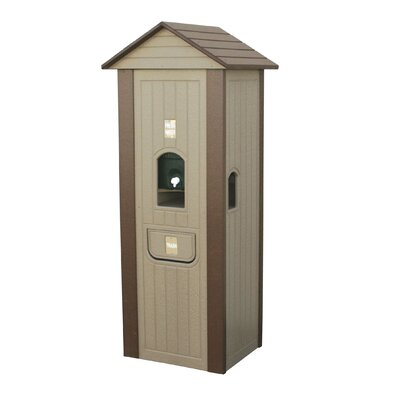 Full Length Water Cooler House Finish: Brown T290BRN
