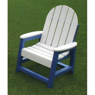 Alexandria Kids Adirondack Chair Finish: Driftwood C361KD