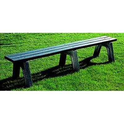 Eagle One Mall Picnic Bench - Leg Color: Black, Slat Color: Driftwood, Size: 4' Long, 2 x 6 Slats at Sears.com