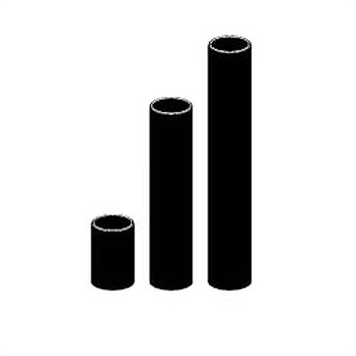 24 Bollard  Lighting  Kit Finish: Textured Black