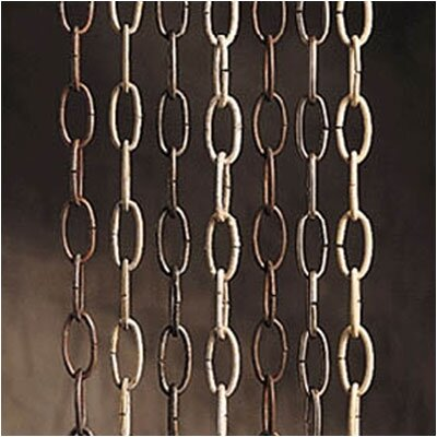 36 Extra Heavy Additional Gauge Chain Finish: Antique Pewter