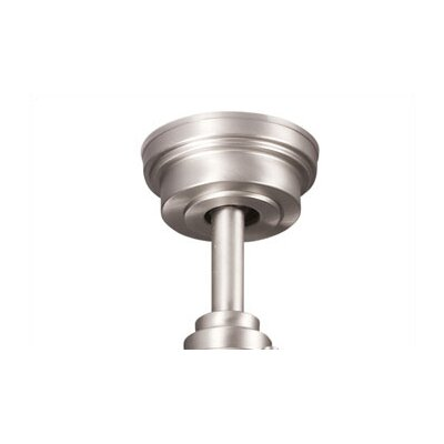 Ceiling Fan Down Rod in Brushed Nickel Size: 36