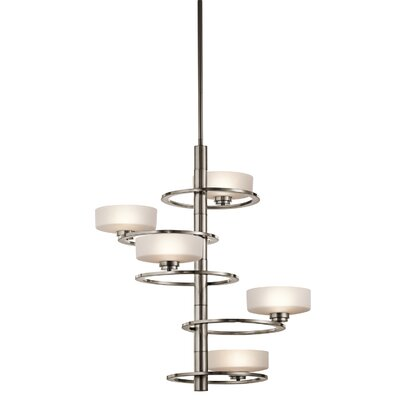 Aleeka 5-Light Drum Chandelier
