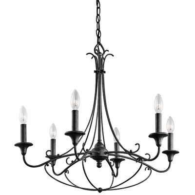 Basel 6-Light Candle-Style Chandelier