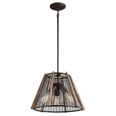 Calleis 3-Light Foyer Pendant