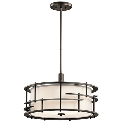 Tremba 4-Light Drum Pendant