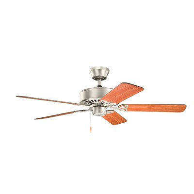 50 Borgen 5-Blade Steel Ceiling Fan Finish: Tannery Bronze