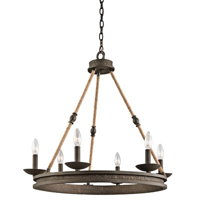 Blair 6-Light Candle-Style Chandelier