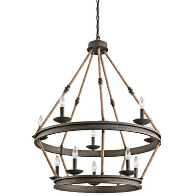 Blair 10-Light Candle-Style Chandelier