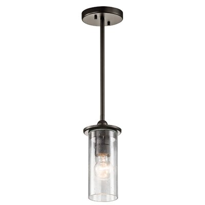 Turner Transitional 1-Light Mini Pendant