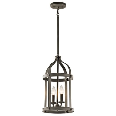 Badham 2-Light Foyer Pendant Finish: Olde Bronze
