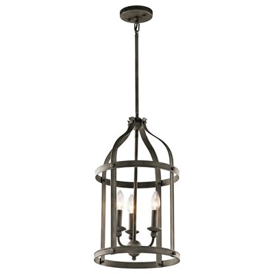 Badham 3-Light Foyer Pendant Finish: Olde Bronze