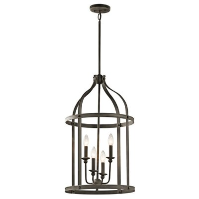 Badham 4-Light Foyer Pendant Finish: Olde Bronze