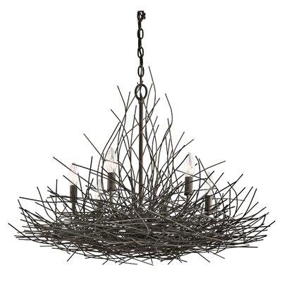 Calder 6-Light Candle-Style Chandelier
