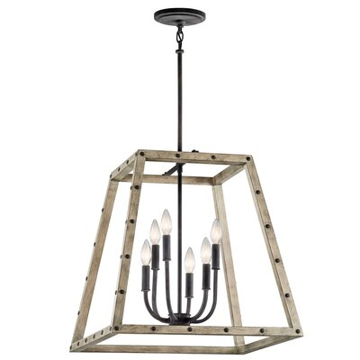 Basford 6-Light Foyer Pendant