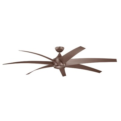 80 Lehr 7 Blade Ceiling Fan Finish: Coffee Mocha