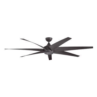 80 Lehr 7 Blade Ceiling Fan Finish: Distressed Black