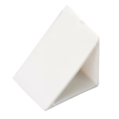 Under Cabinet Cap Off 45 Degree End Cap (Set of 5) Finish: White