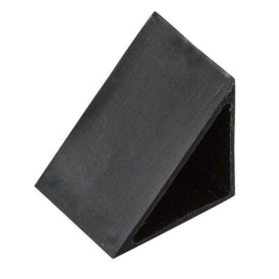 Under Cabinet Cap Off 45 Degree End Cap (Set of 5) Finish: Black