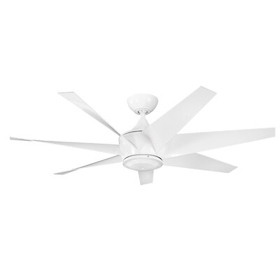 54 Lehr II 7 Blade Ceiling Fan Finish: White