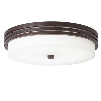 1-Light LED Flush Mount Finish: Olde Bronze