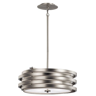 Roswell 3-Light Pendant Finish: Brushed Nickel