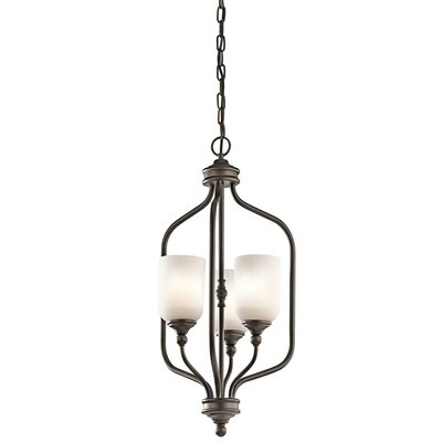 Kayleigh 3-Light Foyer Pendant Finish: Olde Bronze