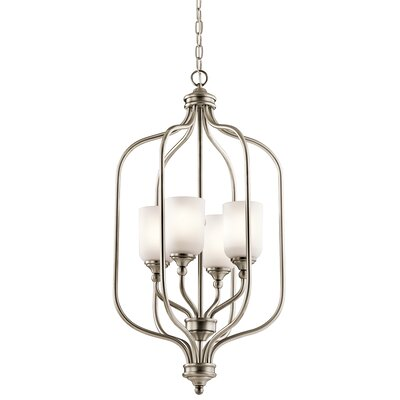 Kayleigh 4-Light Foyer Pendant Finish: Antique Pewter
